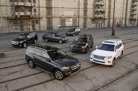 cheap lexus jeep the big test large luxury suvs motor trend