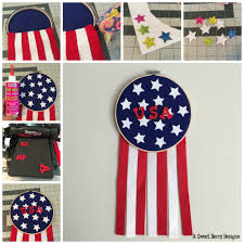 How To Sew A Flag A Sweet Berry U0027s Blog