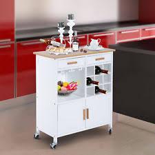 kitchen trolleys and islands kitchen island trolley ebay