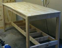 how to build a work table make a work table build a simple work table frame 1 of 2 woodwork