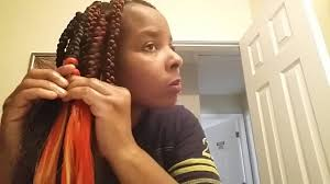 cornrow hair to buy different colour braids how to add different colors youtube