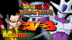 super saiyan 4 goku vs final form cooler dbz dokkan battle