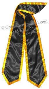 cheap graduation stoles black trims graduation stole