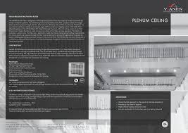 plenum ceiling vianen kitchen ventilation pdf catalogues