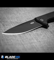 Black Kitchen Knives Zero Tolerance Rexford 0804cf Flipper Knife Carbon Fiber 3 875