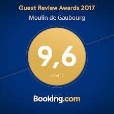 chambres hotes fr guest award 2017 moulin de gaubourg