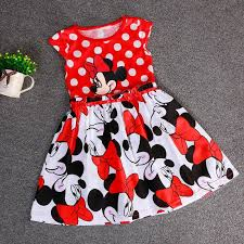 beautiful spring summer fall minnie mouse baby red dress