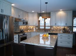 White Cabinet Kitchen Design Ideas Custom White Cabinet Kitchen Remodel Aspen Remodelers In The