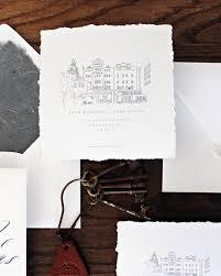 wedding invitations san antonio monochromatic calligraphy wedding invitations
