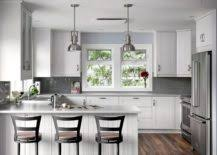 classic and trendy 45 gray and white kitchen ideas the best 100 kitchen designs grey and white image collections www