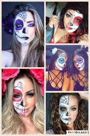 Colorful Halloween Makeup by 52 Best Halloween Makeup Collages Images On Pinterest Make Up