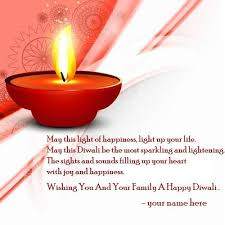 name on wishing you and your family happy diwali quotes images