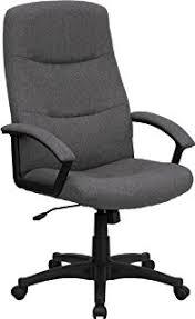 amazon com flash furniture high back gray fabric executive swivel