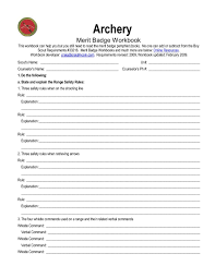 cooking merit badge worksheet answers worksheets archery merit badge worksheet opossumsoft worksheets
