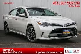 toyota new 2017 new 2017 toyota avalon xle plus 4dr car in santa monica 17350001