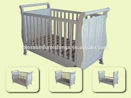 Boori Sleigh Cot Bed Boori Sleigh Cot In Different Color Converts To Toddler Bed