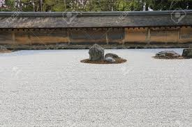 Rock Zen Garden Rock Garden Also Called A Zen Garden At The Ryoan Ji Temple