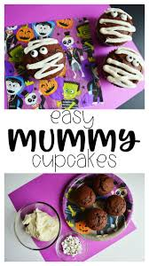 mummy cakes halloween mummy cupcakes recipe for halloween