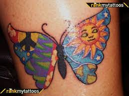 peace on earth tattoos awesome butterfly butterfly