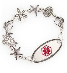 bracelet life images Sea life medical alert bracelet lauren 39 s hope jpg