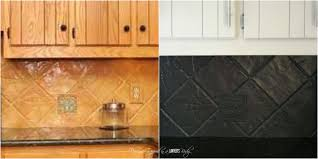 can you paint your kitchen cabinets tile over laminate backsplash granite can you paint over laminate