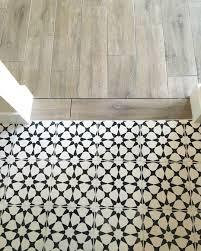 cement tile vanessa matsalla wood to cement tile transition bathroom