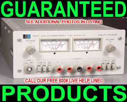 Dc Bench Power Supplies - hp agilent 6205c dual output bipolar variable test bench metered