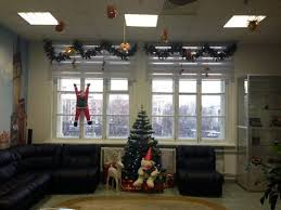New Year Decorations Office by New Year Decorations At Iba Group Office In Minsk Belarus