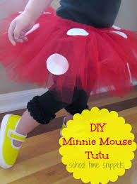 minnie mouse tutu diy halloween costume