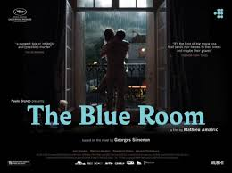 la chambre bleue simenon the blue room aka la chambre bleue poster affiche 2 of