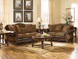 north shore sofa and loveseat benchcraft leather rustic sofas