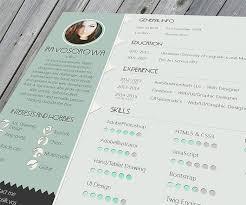 Free Online Resume Templates Nice Resume Template 6 30 Free Beautiful Resume Templates To