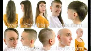 forced to get female hair style forced haircut women long to short youtube