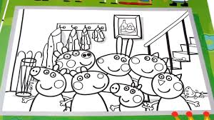 peppa pig new fun coloring book coloring pages kids fun art video
