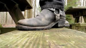 harness boots barefoot in harness boots youtube