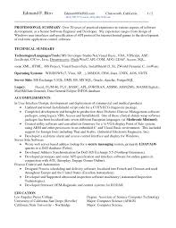 Two Page Resume Header Sample 2 Page Resume Resume For Your Job Application