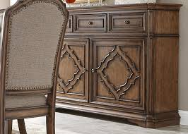 Dining Room Furniture Server Liberty Furniture Amelia Dining Server With Decorative Overlay