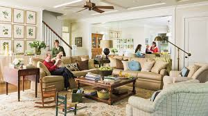 Living Room Decorating Ideas Southern Living - Family living rooms