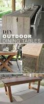 Build Cheap Outdoor Table by Best 25 Homemade Outdoor Furniture Ideas On Pinterest Outdoor