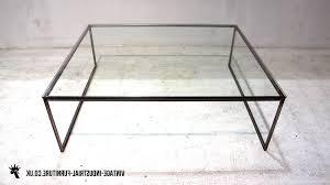 glass top end tables metal coffee table base metal writehookstudio com
