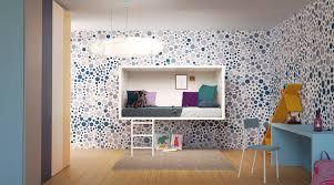 deco chambre enfant design chambre enfant déco de mur colorée facile et bluffante lit