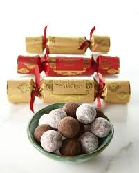 christmas poppers charbonnel et walker six christmas poppers with truffles