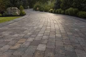 hard surface paving driveway patio landscape kelowna flagstone brick