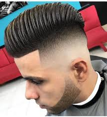 skin fade comb over hairstyle men s high volume comb over with skin fade undercut