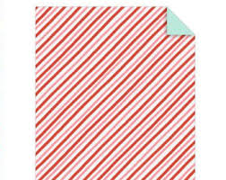 sided wrapping paper striped gift wrap etsy