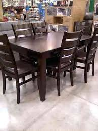 chess table and chairs set costco dining table and chairs chess table dining room sets terrific