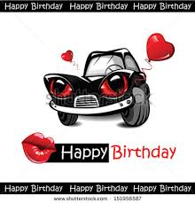 birthday car stock images royalty free images vectors
