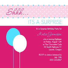 surprise birthday invitation message ideas surprise birthday