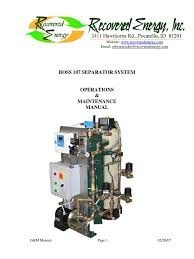 separador de aguas oleosas boss 107 pump valve