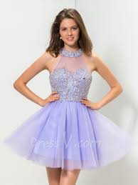aliexpress com buy real photo elegant lilac cocktail dresses a